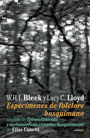 Especimenes del folclore bosquimano