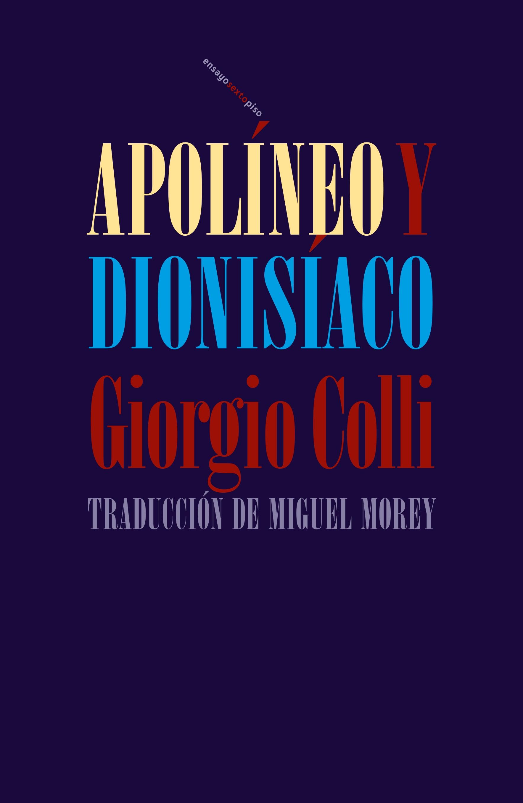 apolineo-y-dionisiaco